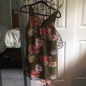 Olive Summer Dress